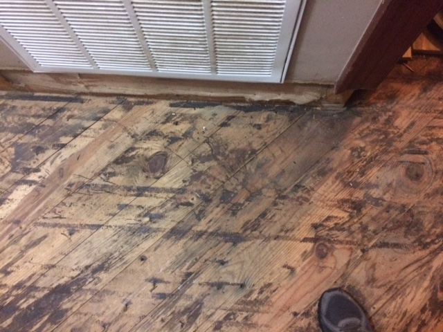 subfloor by return